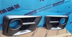 LX570 накладки на передний бампер sport