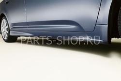 Накладки на пороги для Avensis (комплект)