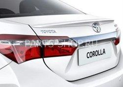 Задний спойлер Toyota Corolla 2013- (поставляется в цвет кузова)