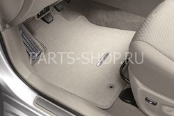 Коврики салона в Avensis текстильные (цвета: сер.,беж.)