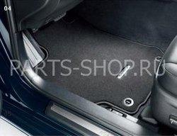 Коврики салона текстильные ACV50 (черные)
