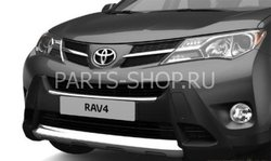 Защита переднего бампера RAV4 2013