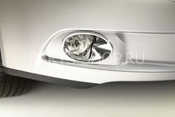 Окантовка противотуманных фар для Avensis 2009- (хром)