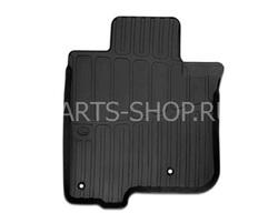 Коврики салона резиновые GX460 черные (с бортиком)