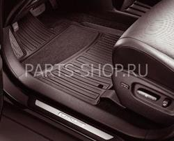Коврики салона резиновые RX450h (цвета: черн, беж)
