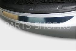 Защитная накладка на задний бампер