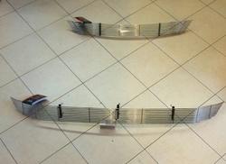 Решетка в бампер верхняя и нижняя на RAV4 2013