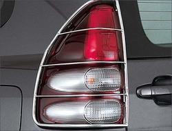 Защита фонарей задних LC120 нержавейка.