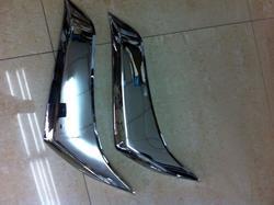 Реснички на фары LC150 (хром)