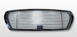 Решётка радиатора хром, полосы из нерж. LC200