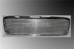 Решетка радиатора LC100 03'-07' (в хром рамке, полосы из нерж.)