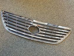 Решетка радиатора RX 03-09 горизонтальные полосы Thundercloud, серебро