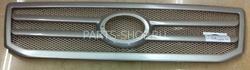Решётка радиатора LC Prado 120 (серебрянная рамка)