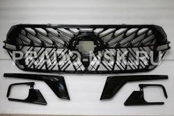 Решетка стиль Black Vision TRD для LC200 2015+ (на туманки + на фары)