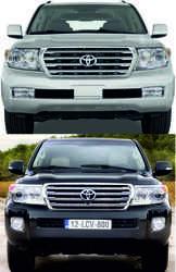Комплект рестайлинга для lc200 2008-2012 (полный)