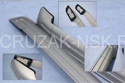 Рейлинги для BMW X6 серебристые