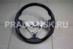 Руль Camry V55 черный лак