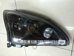 Фары rx330 с дхо линзовые, черные