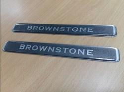 Эмблема brownstone