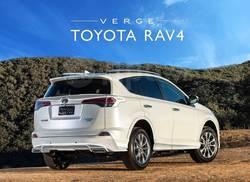 Спойлер  Verge под заднее стекло Toyota RAV4 2015+