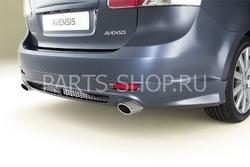 Спойлер заднего бампера для Toyota Avensis (для седана и универсала)