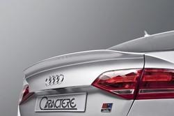 Спойлер на крышку багажника для Audi A4 07'