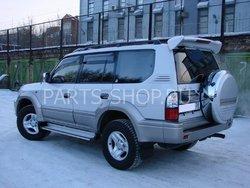 Toyota Prado 90 спойлер на 5-ю дверь