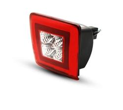 Стоп фонарь Nismo в задний бампер, диодный (красный или темный)