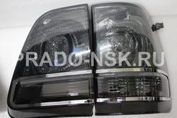 Оптика, стопы, фонари задние стиль LC200 дымчатые