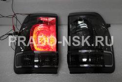 Оптика для LC105 стопы, фонари задние стиль LC200 дымчатые