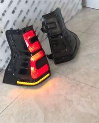 Фонари дымчатые prado 150, с динамическим поворотником