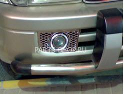 """Противотуманные фары линзованные """"Ангельские глазки"""" tuning на Toyota Prado 90 (комплект)"""