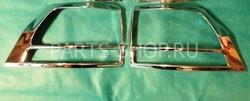 Хром накладки на задние фонари LC150 (только нижние)