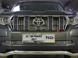 Решетка радиатора для prado 2018, внутренняя