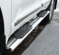 Пороги овальные Land Cruiser 2012