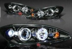 Фары тёмные линзовые на Toyota Camry 01-06