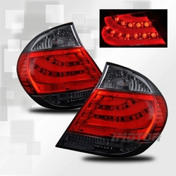 Фонари дизайна BMW на Camry V30 тонированные