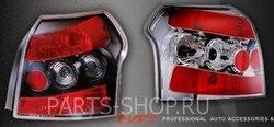 Фонари Corolla 01-06 HB черные и хром (комплект)