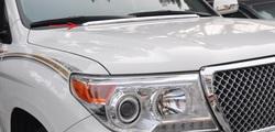 Lexus LX570 молдинг под лобовое стекло из нерж.