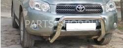Защита переднего бампер на RAV4