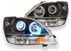 Оптика передняя линзовая с ангельскими глазками RX300 (к-т)