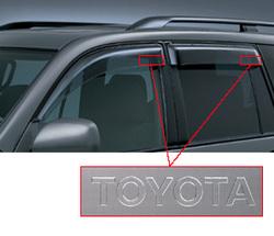 Ветровики Toyota Land Cruiser Prado 120 OEM