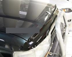 Дефлектор капота LC80 v-star