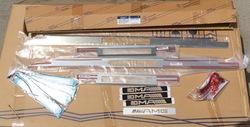 Накладки на пороги w463 с подсветкой AMG