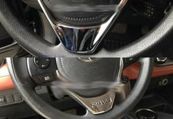 Накладка на руль rav4 2013- хромированная