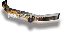 Фаркоп (ТСУ) на GX460 (оцинкованный с нержав. пластиной)