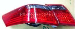 Фонари задние светодиодные, тонированные на Camry40