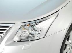 Защита фар прозрачная для Avensis. OEM