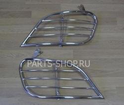 Защита задний фонарей RX300 (полир. нерж. сталь)
