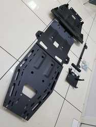 Защита днища prado 150 полный комплект (сталь 4мм)